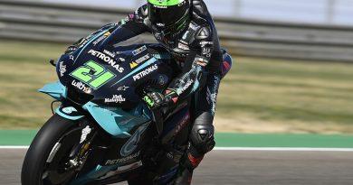 Aragon MotoGP: Morbidelli heads FP3 times as Quartararo crashes heavily - MotoGP
