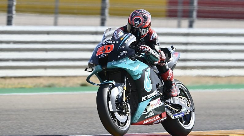 Michelin explains Quartararo's Aragon GP tyre issue - MotoGP