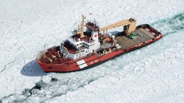 Shipbuilding industry pushes back as federal government shops for used icebreaker