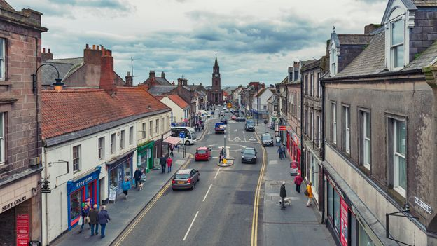 BBC - Travel - The British town with a third 'nationality'