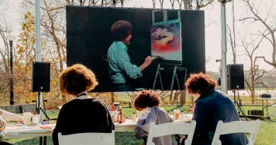 'Bob Ross Experience' Opens in Indiana, Happy Trees and All