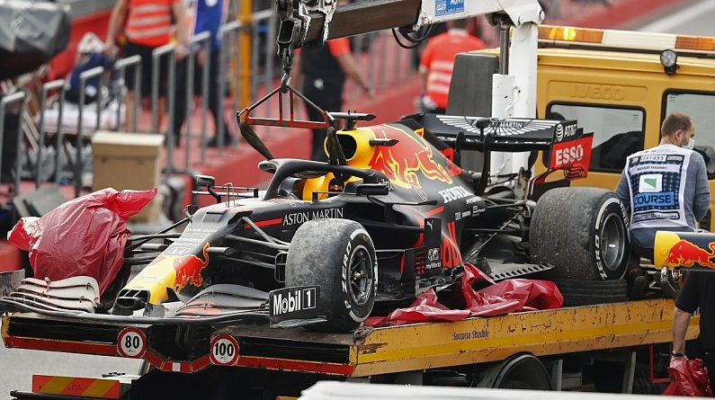 "Horner: Verstappen's Imola F1 tyre failure ""totally instantaneous"" - F1"