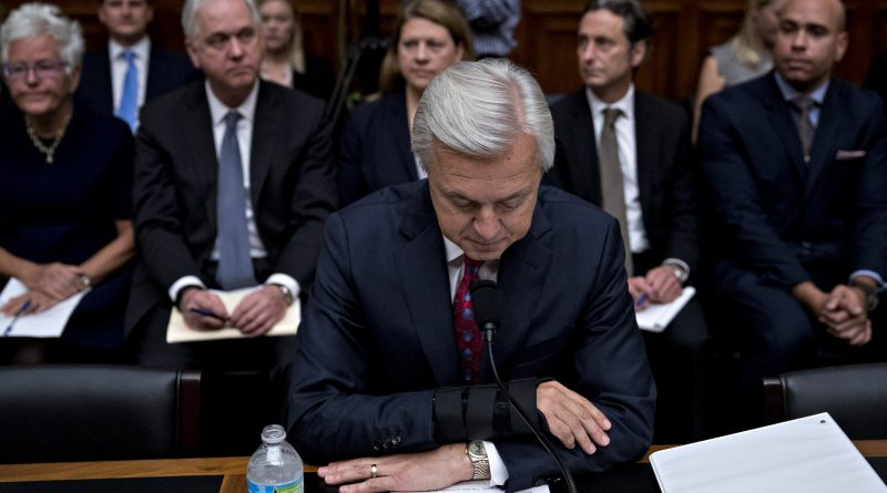 Ex-Wells Fargo CEO John Stumpf misled investors on metric tied to fake accounts scandal, SEC says