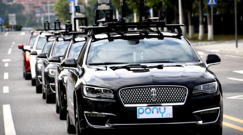 China driverless car firm Pony.ai valued at $5.3 billion after funding