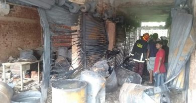 10 shops gutted in Noakhali – Countryside – observerbd.com