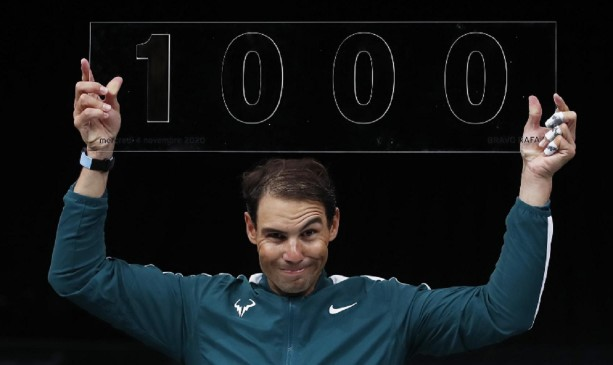 'Great achievement': Nadal claims 1,000th win of career