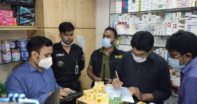 RAB mobile court fines clinic, pharmacies Tk 17 lakh for irregularities