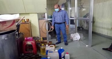 Adulterated ghee making factory busted in Hathazari  – Countryside – observerbd.com
