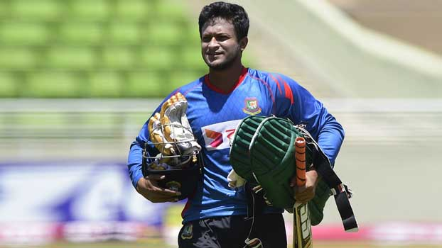 Shakib to take part in fitness test