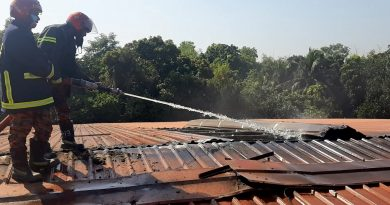 Fire catches spinning mill in Mymensingh – Countryside – observerbd.com