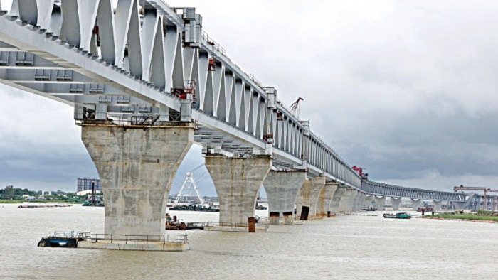 Main structure of Padma Bridge to be visible by Dec – National – observerbd.com