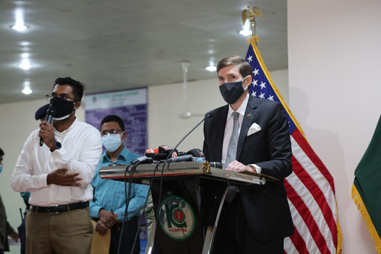 America's commitment to Bangladesh has never been stronger: Miller