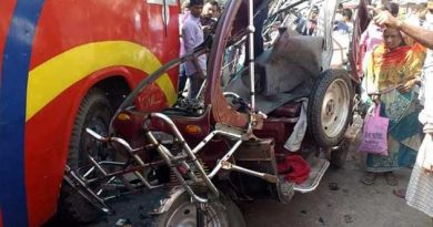 Rajshahi road crashes leave 3 dead, six injured – Countryside – observerbd.com