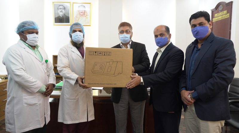 bKash hands over six ventilators to Police Hospital  – Business – observerbd.com