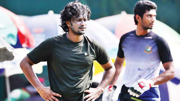 Mahmudullah, Shakib begin preparation