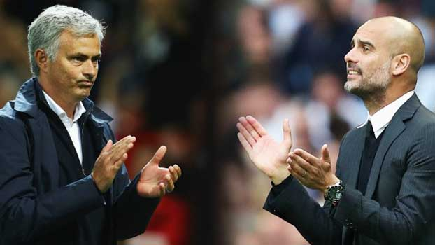 Pep Guardiola and Jose Mourinho meet again