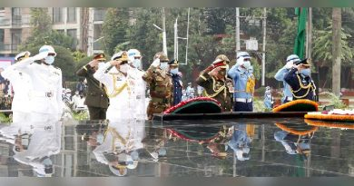 Armed Forces Day observed