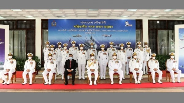 40 Navy personnel get awards for heroism – National – observerbd.com