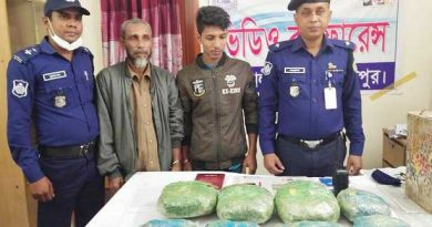 Father-son held with hemp in Pirojpur – Countryside – observerbd.com