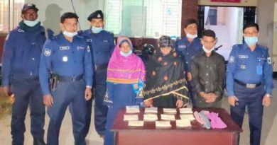 2 women among 3 held with 1.1kg heroin in Rajshahi – Countryside – observerbd.com