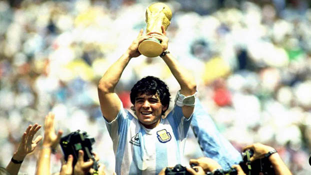 World mourns Maradona