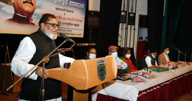 People will reply to conspiracy centering Bangabandhu's sculpture: Mozammel