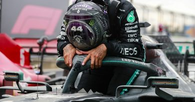 """Hamilton told himself to """"keep it together"""" as Turkey victory neared - F1"""