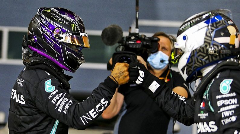 Bottas reveals Mercedes F1 drivers have different set-ups for Bahrain GP - F1