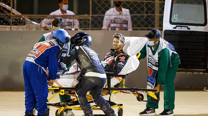 "Haas: Grosjean ""lucky by being unlucky"" in horror Bahrain crash - F1"