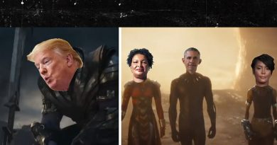 'Avengers' Homage to Biden and Supporters is Awesome