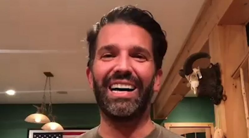 Donald Trump Jr. Quarantining with COVID with Netflix and Guns