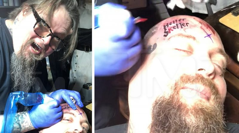 Charles Manson Fanatic Gets 'Helter Skelter' Tattoo with Manson Ashes