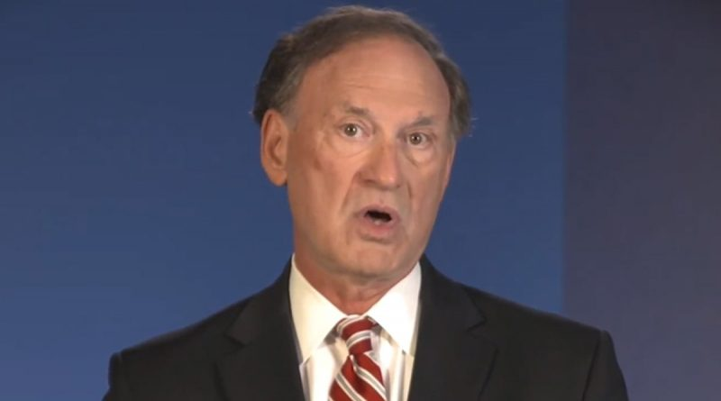 Justice Samuel Alito Says COVID Has Severely Restricted Freedoms, We're Ruled by Scientists