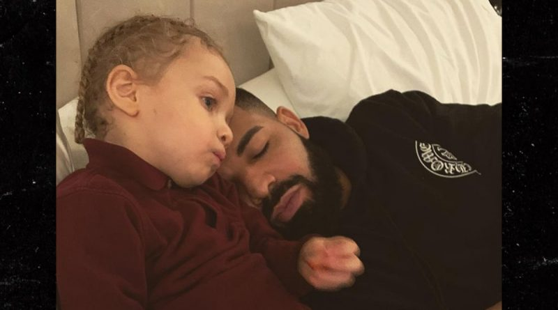 Drake and Adonis Share Sweet Moment in this Photo