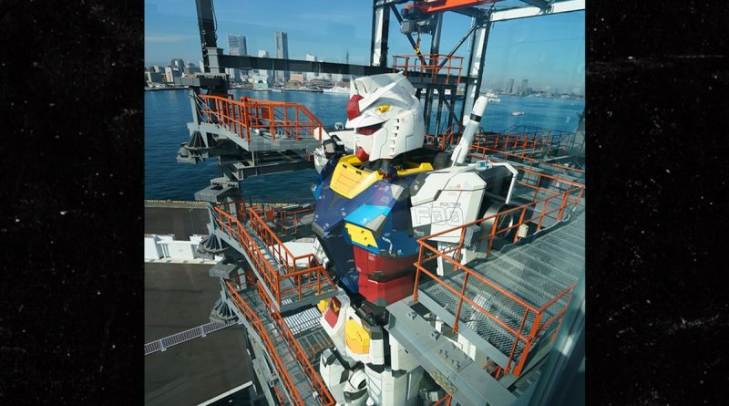 Japanese Life-Size Gundam Robot Replica Officially 'Unveiled'