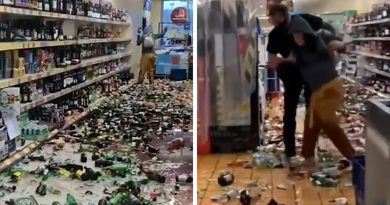 Woman Goes On Rampage and Breaks 500 Bottles of Liquor in Supermarket