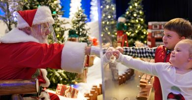 Santa Claus is Still Coming to Malls with COVID Precautions