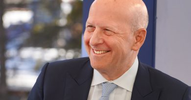 Goldman Sachs CEO David Solomon says 90% of small businesses have exhausted PPP funds
