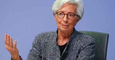 Watch ECB President Lagarde speak after latest policy move