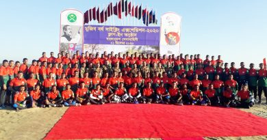 Army holds 'Mujib Borsho Cycling Expedition-2020' flag in – National – observerbd.com