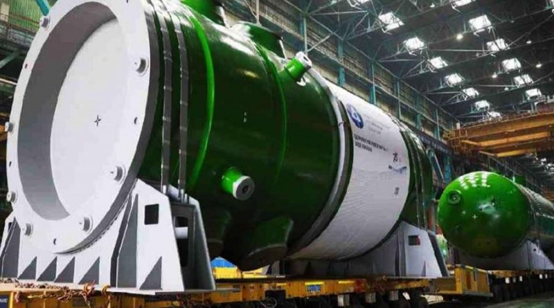 Atommash manufactures reactor vessel equipment for RNPP