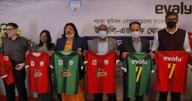 Evaly provides jersey to para footballers – Business – observerbd.com