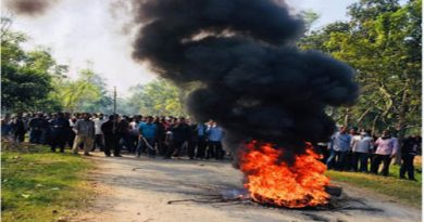 Pabna sugarcane growers block road protesting closure of mills – Countryside – observerbd.com