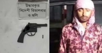 Youth held with pistol, bullet – Countryside – observerbd.com