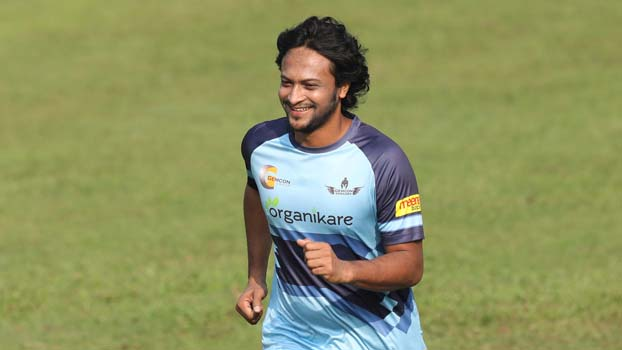 Shakib set for return to central contract list