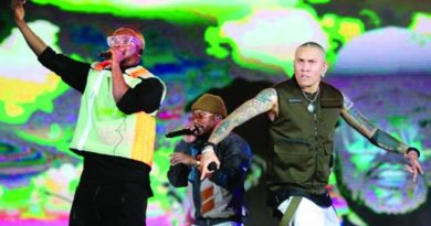 The Black Eyed Peas tops charts in move to Latin music | The Asian Age Online, Bangladesh