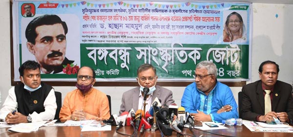 Opponent of sculptures are descendents of those who called freedom fighters kafers: Hasan