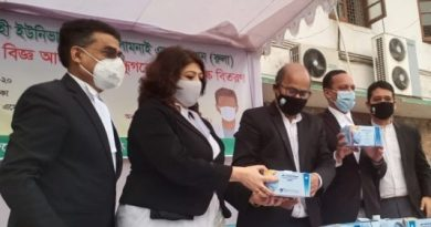 RULA President distributes masks among lawyers