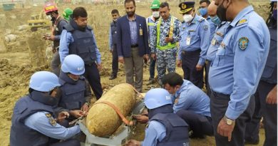 250 kg bomb found at HSIA