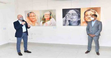 British, Turkish envoys impressed by artworks featuring PM Hasina – National – observerbd.com